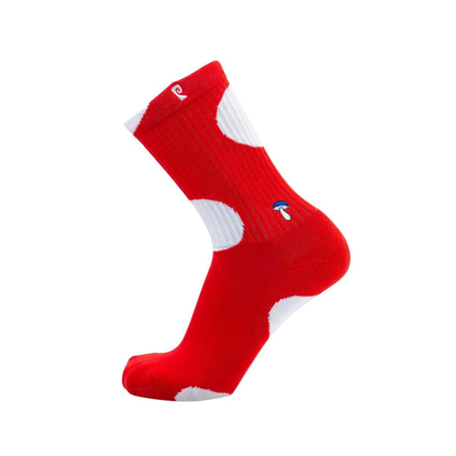 PSOCKADELIC SHROOM RED/WHT UNI