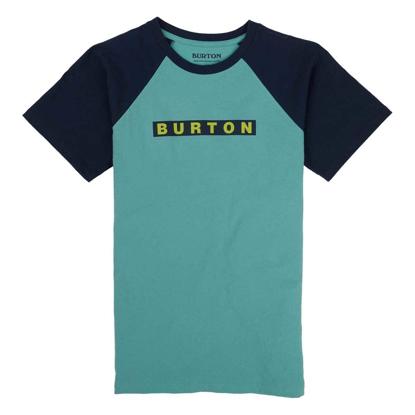 BURTON VAULT S/S KID BUOY BLUE S