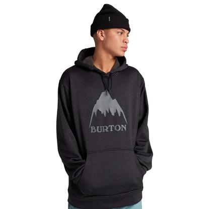 BURTON OAK HO TRUE BLKHEATHER XL
