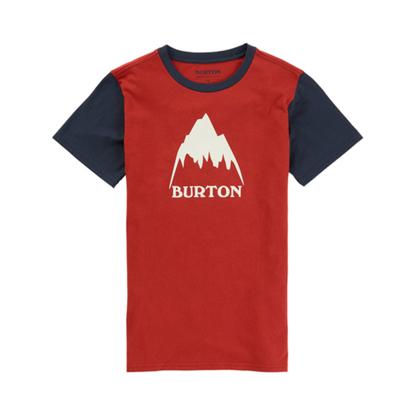 BURTON CLSC MTNHGH S/S KID TANDORI L
