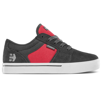 SP COP ETN KID BARGE LS DARK GREY/RED 7K