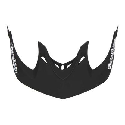 TROY LEE DESIGNS A1 VISOR BLACK OSFA