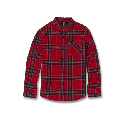 SRAJCA VOL KID CADEN PLAID L/S ENR M