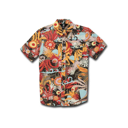 SRAJCA VOL KID PSYCH FLORAL S/S ARM S