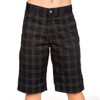 KR HLACE VOL KID FRICKIN PLAID SHORT BLK 26