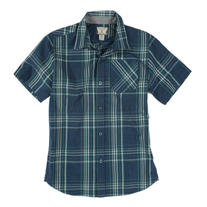 SRAJCA VOL KID WHY FACTOR PLAID S/S NVP M