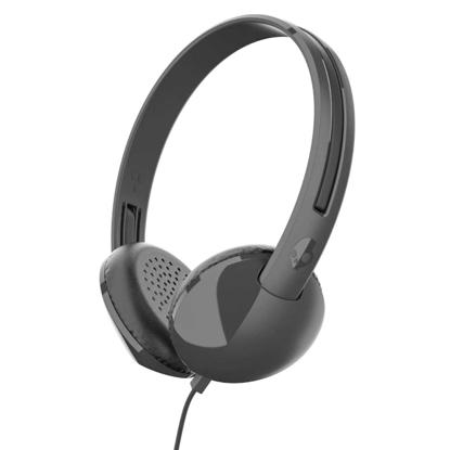 SKULL CANDY STIM ON-EAR W/TAP TECH BLK/CH/BLK