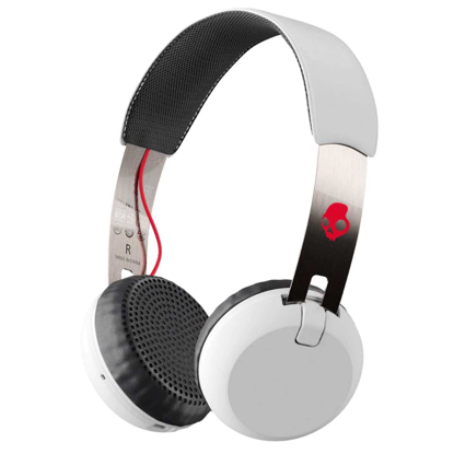 SKULL CANDY GRIND WIRELESS ON-EAR WHT/BLK/RED