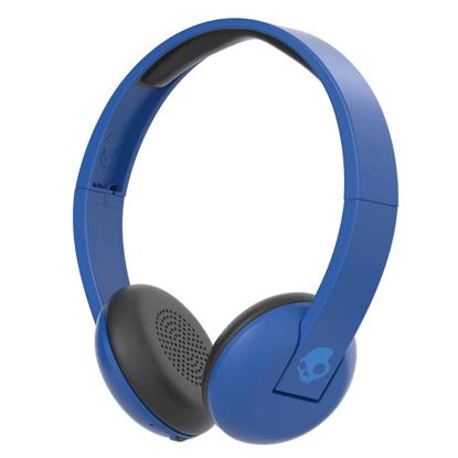 SKULL CANDY UPROAR ON-EAR WIRELESS ROYAL/CREAM/BLUE