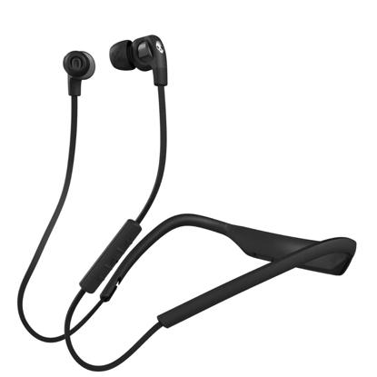 SKULL CANDY STIM ON-EAR W/TAP TECH BLK/BLK/CH