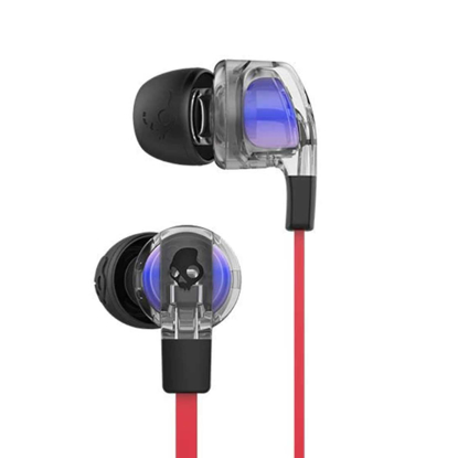 SLUSALKE SCDY SMOKIN BUD 2 IN-EAR W/MIC 1 SPACED OUT/CLEAR/BLK
