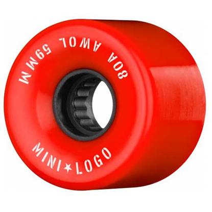 MINI LOGO A.W.O.L. 59 80A RED 59
