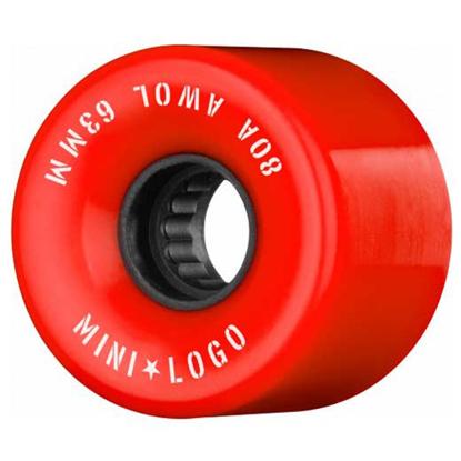MINI LOGO A.W.O.L. 63 80A RED 63