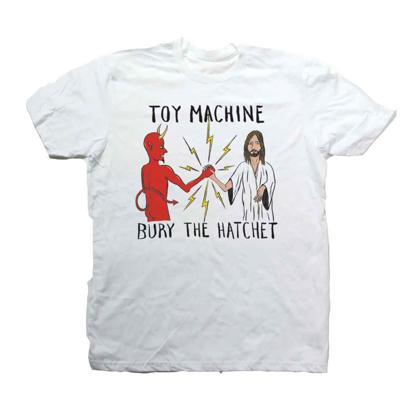 TOY MACHINE BURY THE HATCHET WHT XL