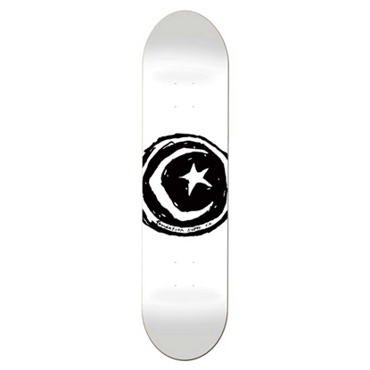 FOUNDATION STAR AND MOON WHITE 8.25 BB 8.38