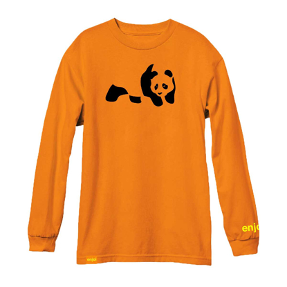 MAJICA ENJ PANDA L/S ORANGE M