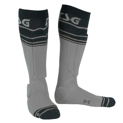 TSG RIOT SOCK GREY/STRIPED 39-42