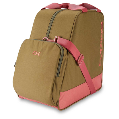 TORBA DK BOOT BAG 30L DARK OLIVE / DARK ROSE