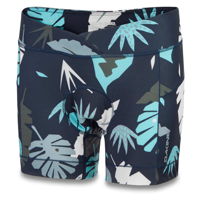 DAKINE W COMP LINER SHORT ABSTRACT PALM L