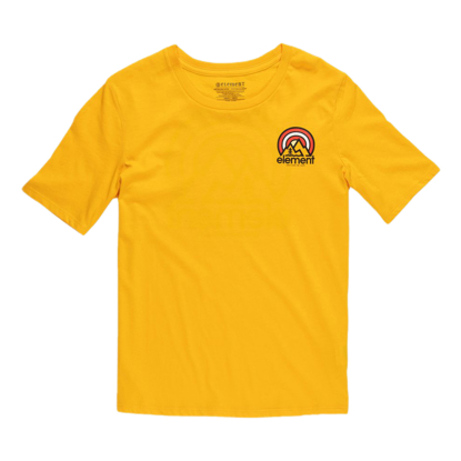 ELEMENT BRANDED CR S/S W GOLD S