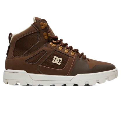 DC PURE HT WR BOOT BROWN 10,5