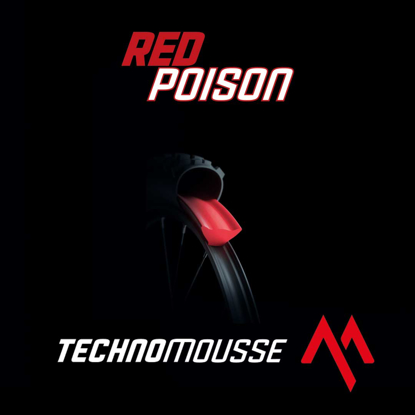 TECHNOMOUSSE TUBELESS RED POISON 29 RED 29
