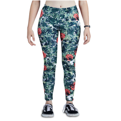 HLACE NIKITA W DEMO LEGGING CAMO POP S