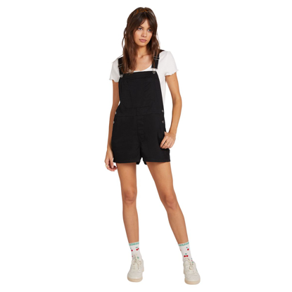 VOLCOM FROCHICKIE OVERALL W BLK XS