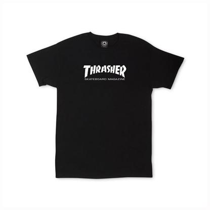 THRASHER MAGAZINE SKATE MAG S/S KID BLK S