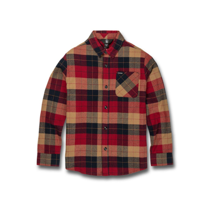 SRAJCA VOL KID CADEN PLAID L/S RIO L