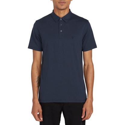 VOLCOM WOWZER Polo Shirt NVY L