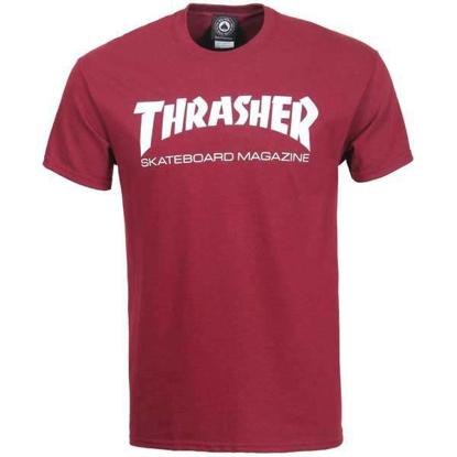 THRASHER MAGAZINE SKATE MAG S/S MRN M