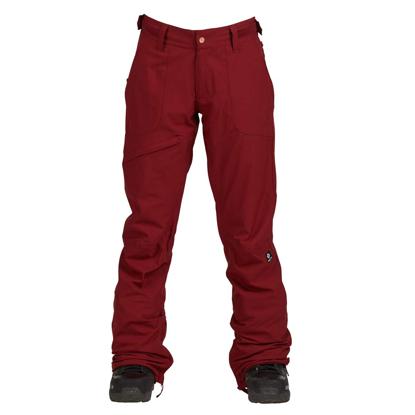 NIKITA WHITE PINE STRETCH PANT RED S