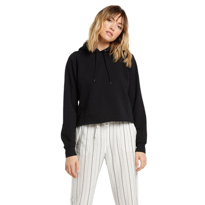 PULOVER VOL W TRULY STOKED HO BLK XS