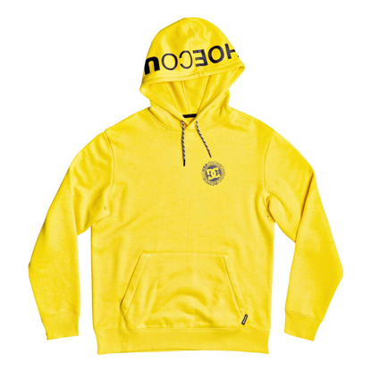 PULOVER DC SNOWSTAR FLEECE HO LEMON CHROME S