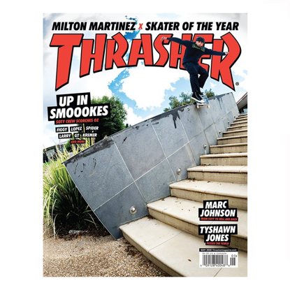 REVIJA THR THRASHER MAGAZINE
