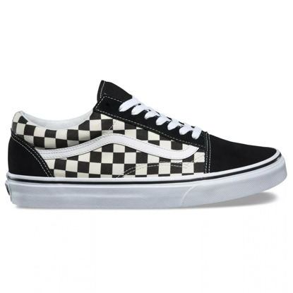 SP COP VANS OLD SKOOL PRIMERY CHECK BLK/WHT 10
