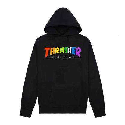 THRASHER MAGAZINE RAINBOW MAG HO BLACK S