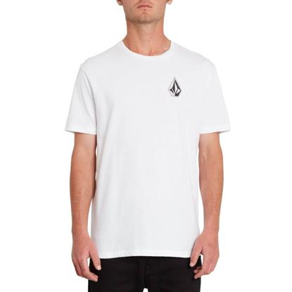 VOLCOM FA CARLOS VIVARY T-SHIRT WHITE L