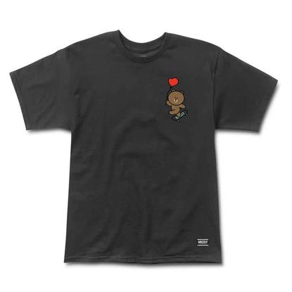 GRIZZLY GRIPTAPE FLOAT ON  T-SHIRT BLACK XL