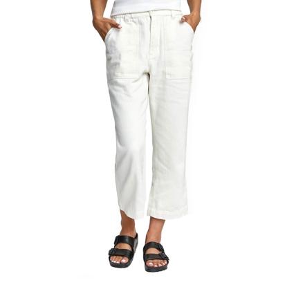 RVCA NEUTRAL HEMP PANT W WHITE XS