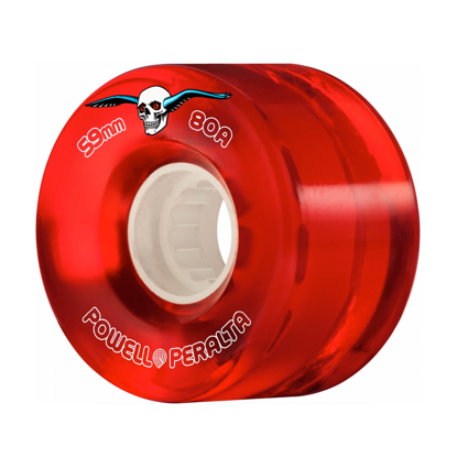 POWELL H8 CLEAR CRUISER 59 80A RED 59MM