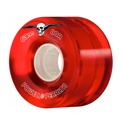 POWELL H8 CLEAR CRUISER 63 80A RED 63MM