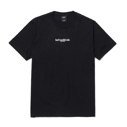 HUF NEVER YOURS S/S T-SHIRT BLACK M