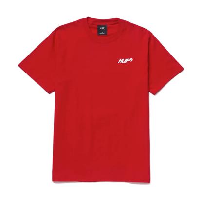 HUF I FEELS GOOD S/S T-SHIRT RED M