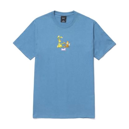 HUF BEST FRIENDS S/S T-SHIRT COLONIAL BLUE XL