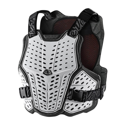 TROY LEE DESIGNS ROCKFIGHT CE CHEST PROTECTOR WHITE XS/S