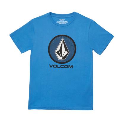 VOLCOM CRYPTIC STONE T-SHIRT KID BALLPOINT BLUE S