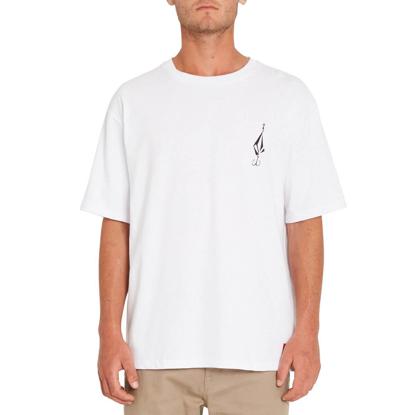 VOLCOM LOOSE TRUCKS LSE T-SHIRT WHITE S