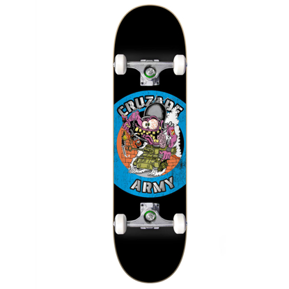 """CRUZADE SKATEBOARDS CZD ARMY TANK 8.0"""" COMPLETE ASSORTED 8.0""""X31.85"""""""
